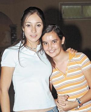 Bárbara Borrego y Andrea Escalante.