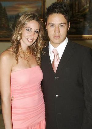 Johanna Miñarro y Alejandro Ríos.