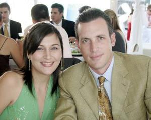Ana Karla y Ricardo Kientzle.
