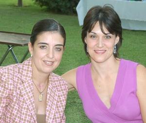 Cecilia y Cristina Fernández.