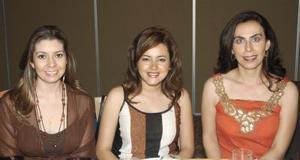 Katia Ruiz, Nancy Reveles y Angélica Millán.