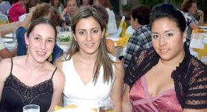 Bárbara Berlanga, Melisa y Pamela Mijares.