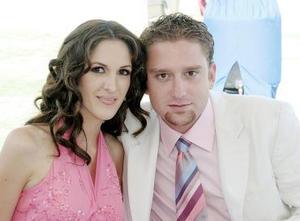 Valeria Muñoz y Gabriel Villalobos.