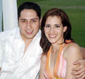 Rotoen García y Julieta López.