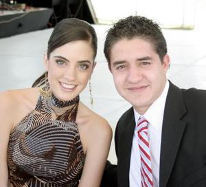 Any Díaz de León y Luis Jaidar.