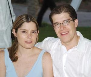 <b>13 de octubre 2005</b><p> Ana y Ricardo Albarrán.
