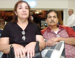 Graciela y Alonso Briones, viajaron a Ciudad Juárez.