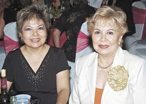 Belén Ochoa y Rosaura de Estrella.