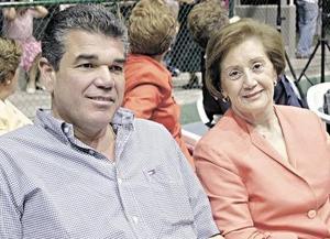 José Rebollo y María Dolores de Rebollo.