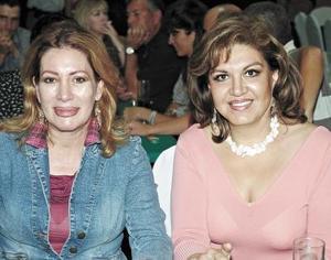 Rebeca Díaz y Maru Márquez.