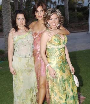 Karina, Rocío y Katia.