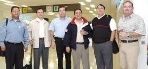 Carlos Ramírez, Alejandro Hernández, Ricardo Vázquez, César López, Memo Pardo y Manuel Reza, llegaron a Torreón procedentes de México, DF.