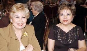 Belén Ochoa y Rosaura Estrella.