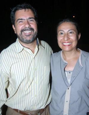 Carmen Álvarez y Antonio Guggeri.