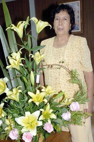 Elvira Moreno Segura celebró su cumpleaños recientemente.
