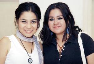 Ana Laura Márquez y Tania Díaz.