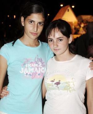 Bárbara Ruenes y Marimar Chaman.