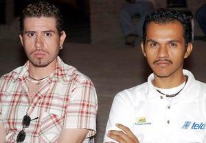 Eloy Delgadillo y Manuel Salas.