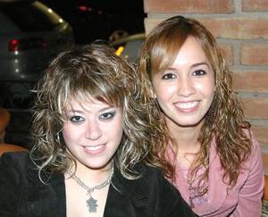 Jordana Puente y Gaby Ruiz.