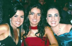 Lorena Silveyra de González, Mónica Silveyra y Gabriela Silveyra de Herrera.