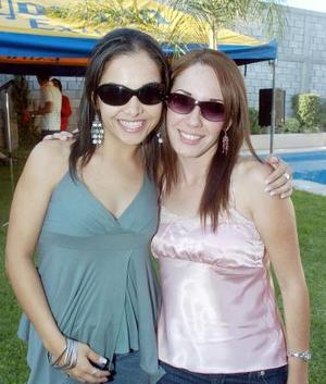 Sandra Cardiel y Ale Domínguez.
