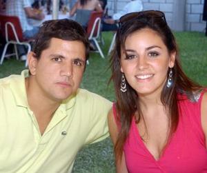 Jorge Guajardo y Celina Barrientos.