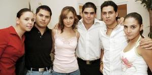 Marcela Lavín, Paco García, Marcela Albéniz, Abelardo de la Fuente, Sergio Gutiérrez y Karla Dabdoub.