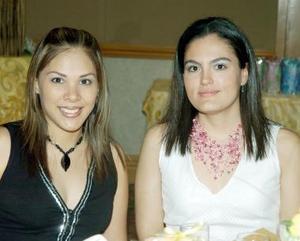 Claudia de Jaime y Cristina del Río.