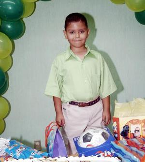 Aldaír Rodríguez Campos cumplió seis años, motivo por el cual disfrutó de una merienda que la organizaron.