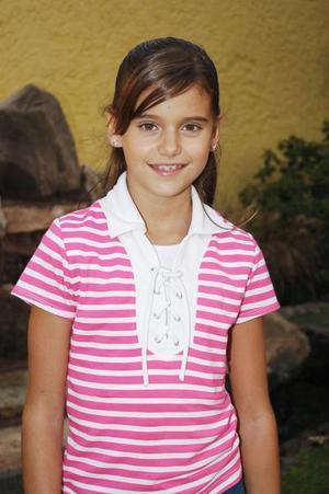 Daniela González Izaguirre cumplió 11 años de vida y por ello disfrutó de una divertida fiesta de cumpleaños.