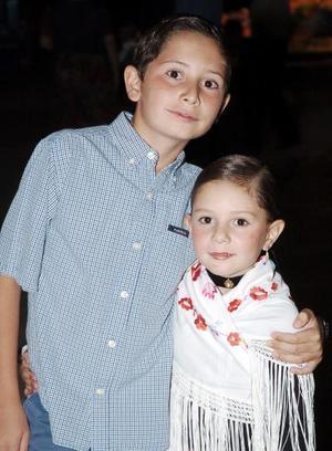 Pamela y Enrique Córdova
