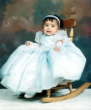 Sarahí Rosales Hernández celebró recientemente su primer cumpleaños.