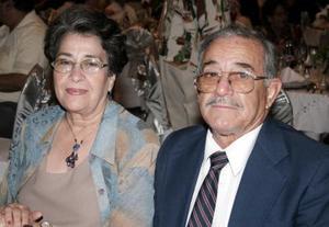 María Dolores de Mora y Celedonio Mora.