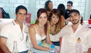 Pepe Máynez, Lily Villa, Daniela Ramos y Daniel Nohra.