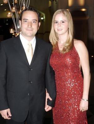 Raúl Viesca  y Graciela Garza.