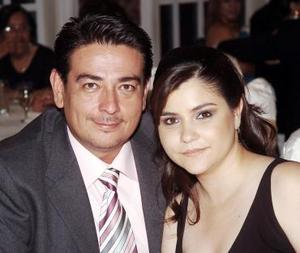 Enrique Salas y Diana de Salas.
