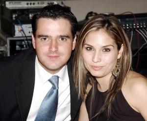<b>20 de octubre 2005</b><p> Alberto Torres y María Olayo Cantú.