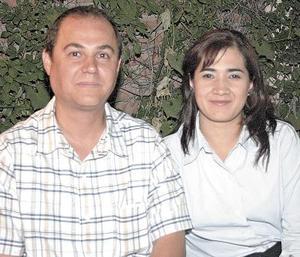 Raúl y Nayath Vadlés.