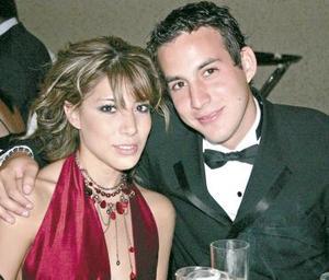 Pamela Rodríguez y Carlos Fernando G.