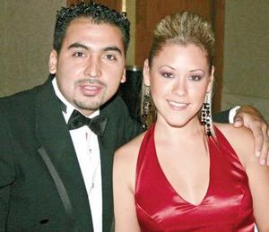 Carlos Anaya y Carolina Cepeda.