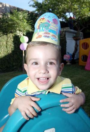 Rodrigo Gutiérrez Martínez celebró su cumpleaños número dos.