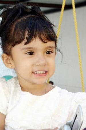 Alisson Nicole Rodríguez Segura festejó su segundo cumpleaños recientemente.
