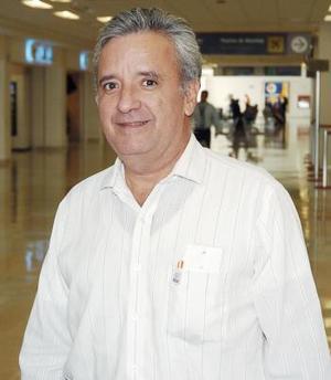Francisco Flores llegó procedente de Monterrey.