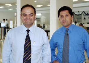 Eduardo Cruz y Aarón Lavenant regresaron a Monterrey.