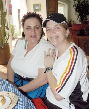 Cecilia Eraña y Cristina Fuentes.