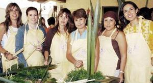<b>22 de octubre de 2005</b><p> Rocío Díaz, Anaida Lahoz, Cathy Villarreal, Mimo Safa, Lizeth Safa y Gaby Quezada.