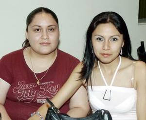 Damiriz Pineda e Ivette Solís.