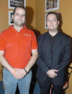 Emmanuel Delaloy y Ricardo Reyes.