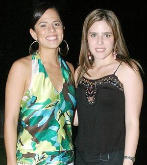 Gilda Moreno y Brenda Dávila.