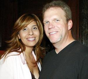 Jackeline Aguilar y Rick Campbell.